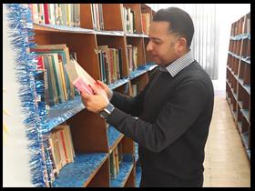 الجولة الثانية من زيارات التقييم للجنة مسابقة افضل مكتبة بجامعة بنها