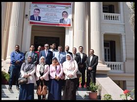 جامعة بنها تنتهي من زيارات تقييم 16 مكتبة بالجامعة